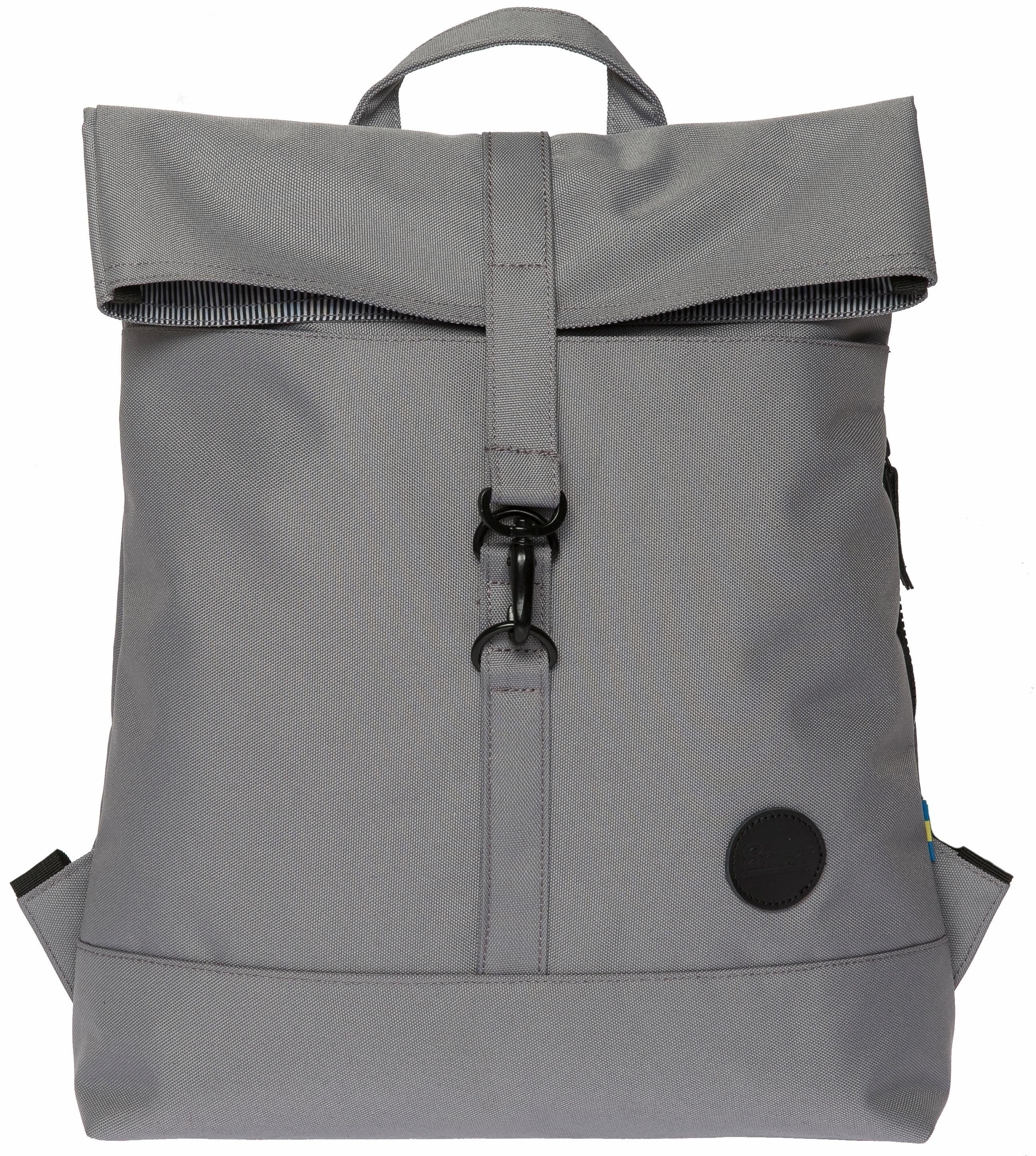 Enter Rucksack, »City Fold Top Backpack, Grey«