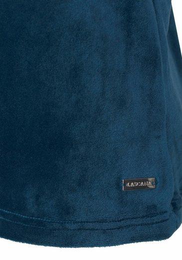LASCANA Lounge-Shirt aus weichem Nicki