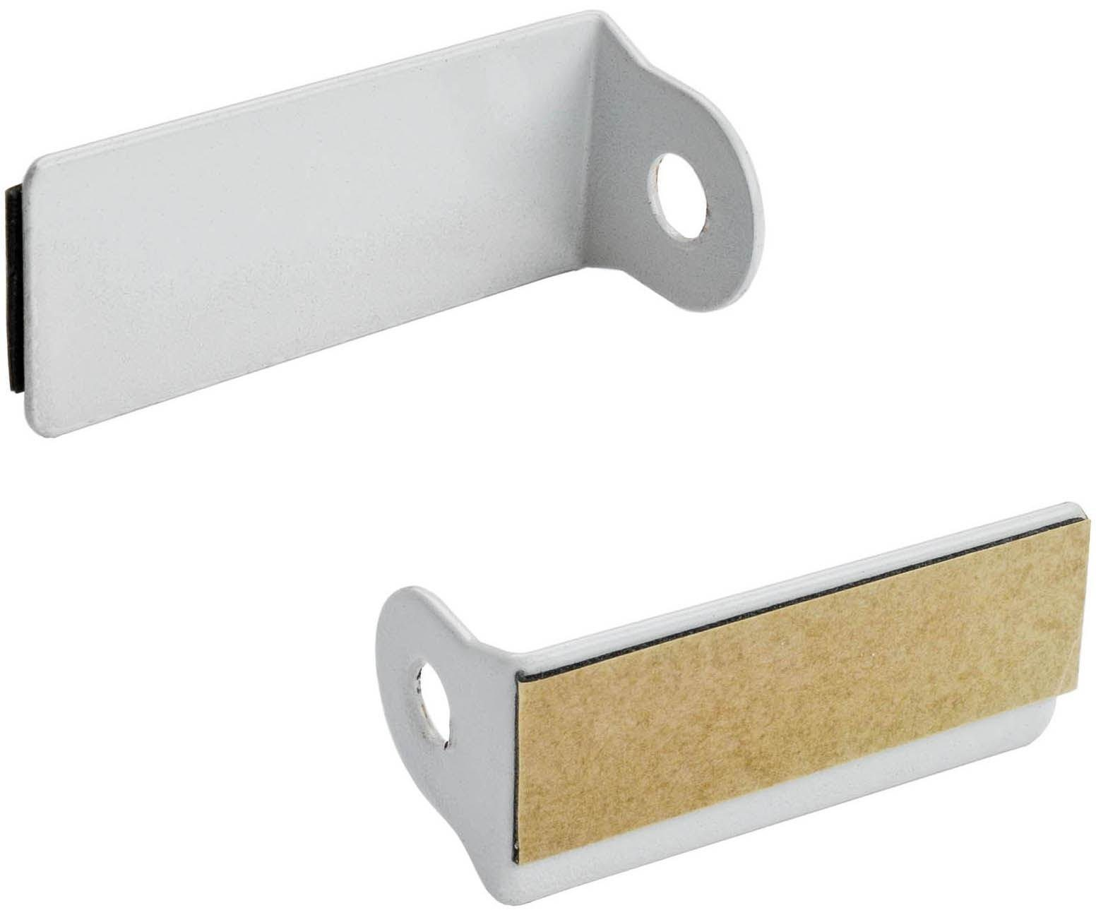Klebeträger, Liedeco, Scheibenstange für Alu-Fenster (2 Stück) | Heimtextilien > Gardinen und Vorhänge > Gardinenstangen | Liedeco