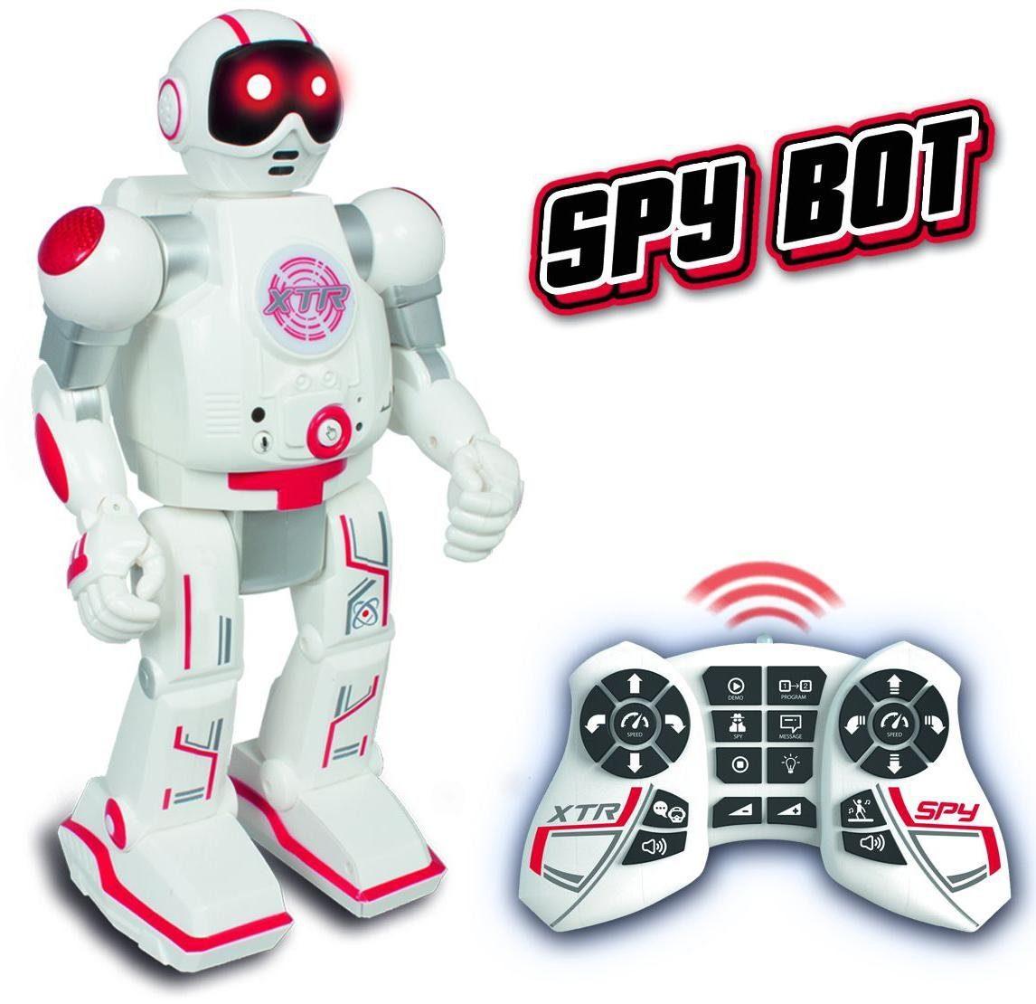 KD Kidz Delight Roboter mit Licht- und Soundeffekten, »Xtream Bots - Spy Bot«