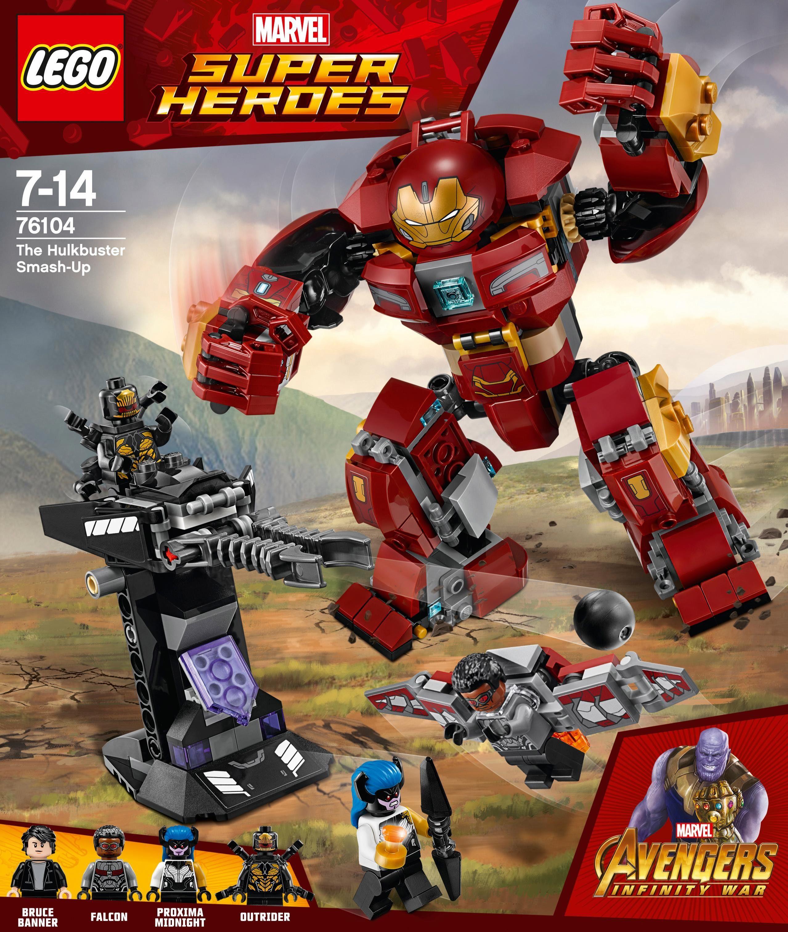 LEGO® Der Hulkbuster (76104), »LEGO® Marvel Super Heroes«