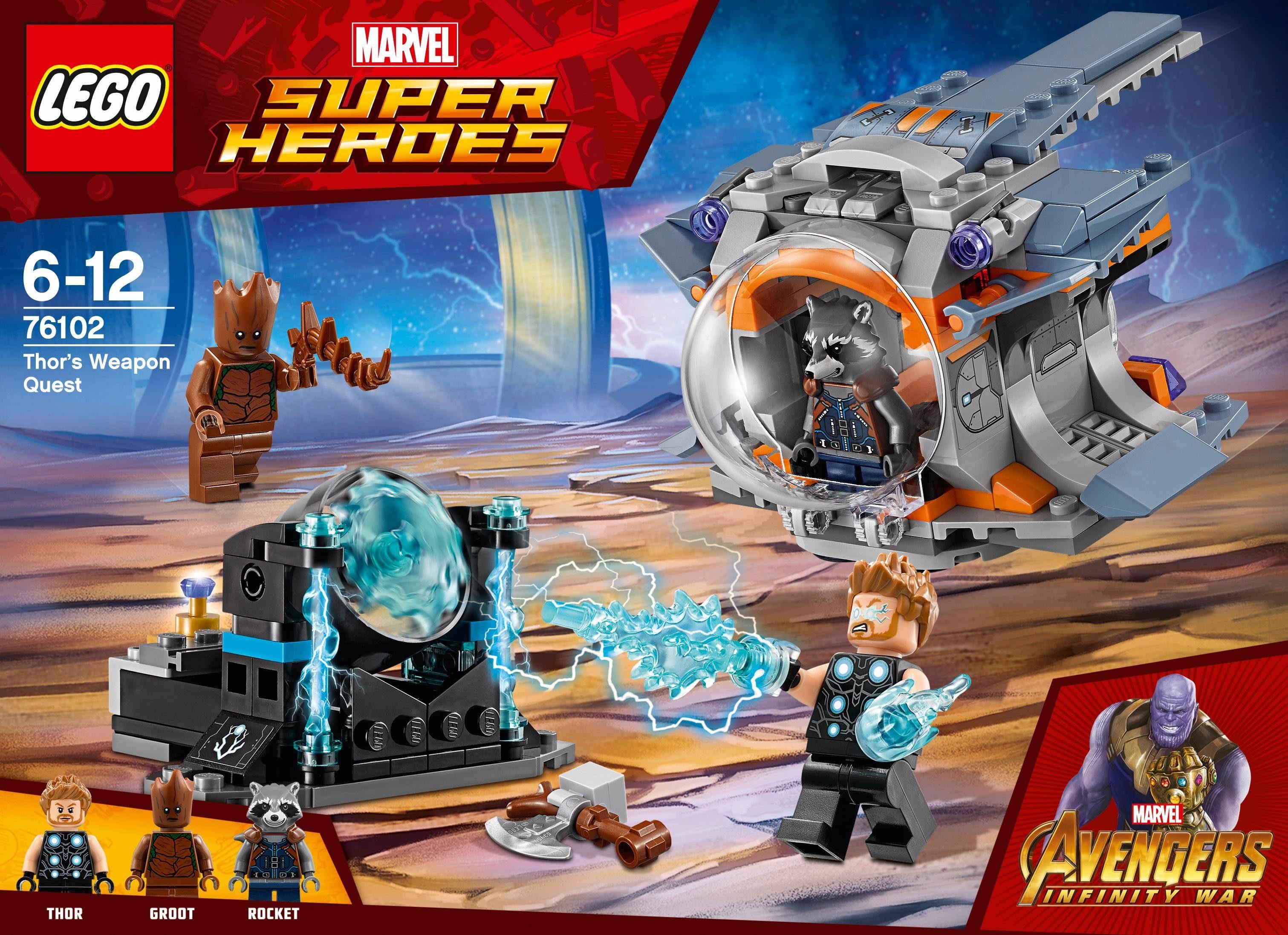 LEGO® Thors Stormbreaker Axt (76102), »LEGO® Marvel Super Heroes«