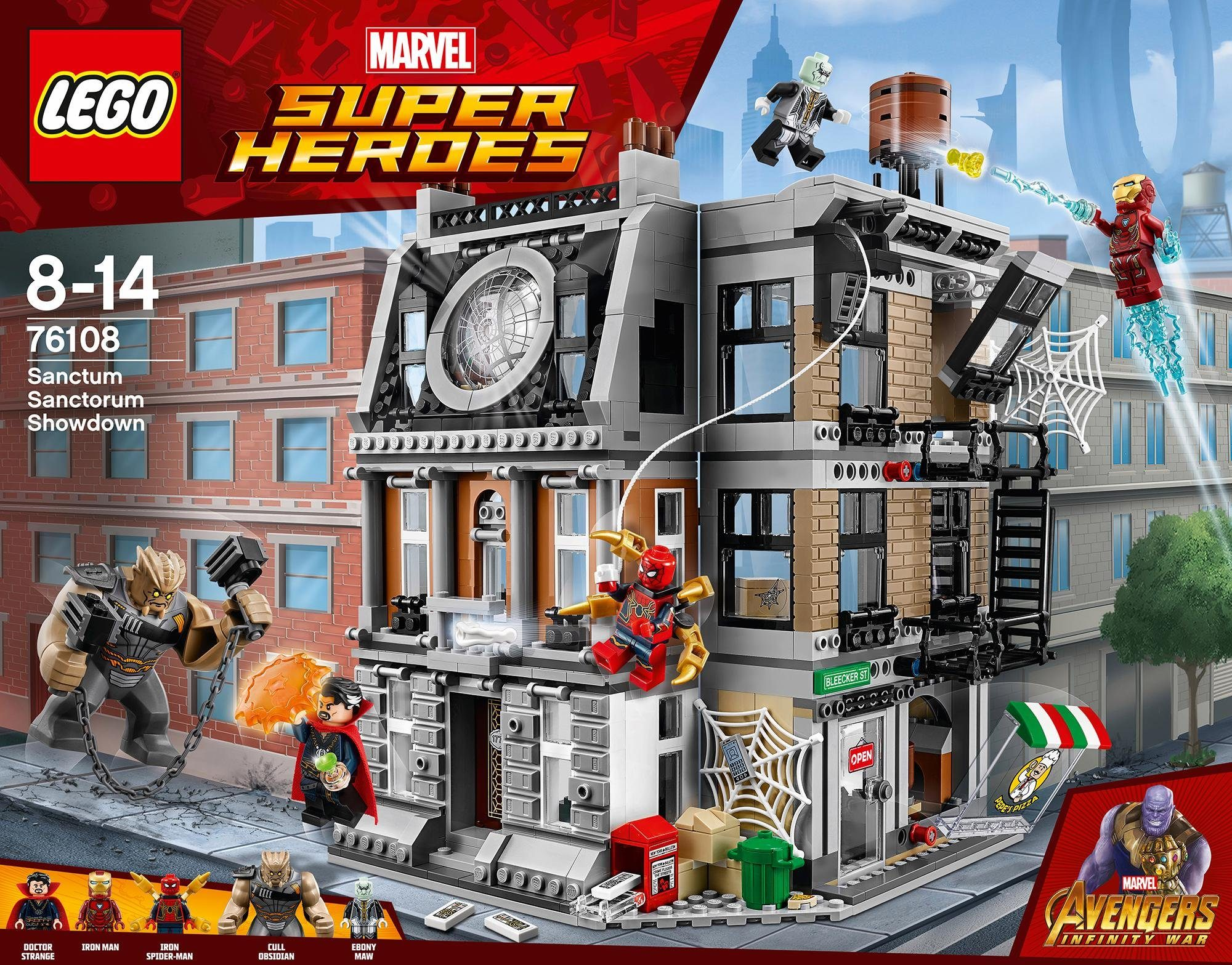 LEGO® Sanctum Sanctorum – Der Showdown (76108), »LEGO® Marvel Super Heroes«