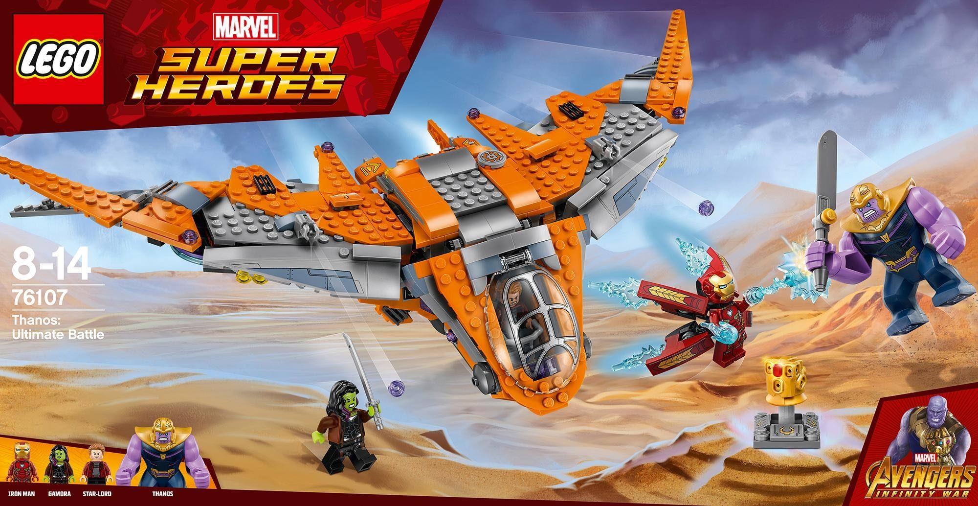LEGO® Thanos: Das ultimative Gefecht (76107), »LEGO® Marvel Super Heroes«
