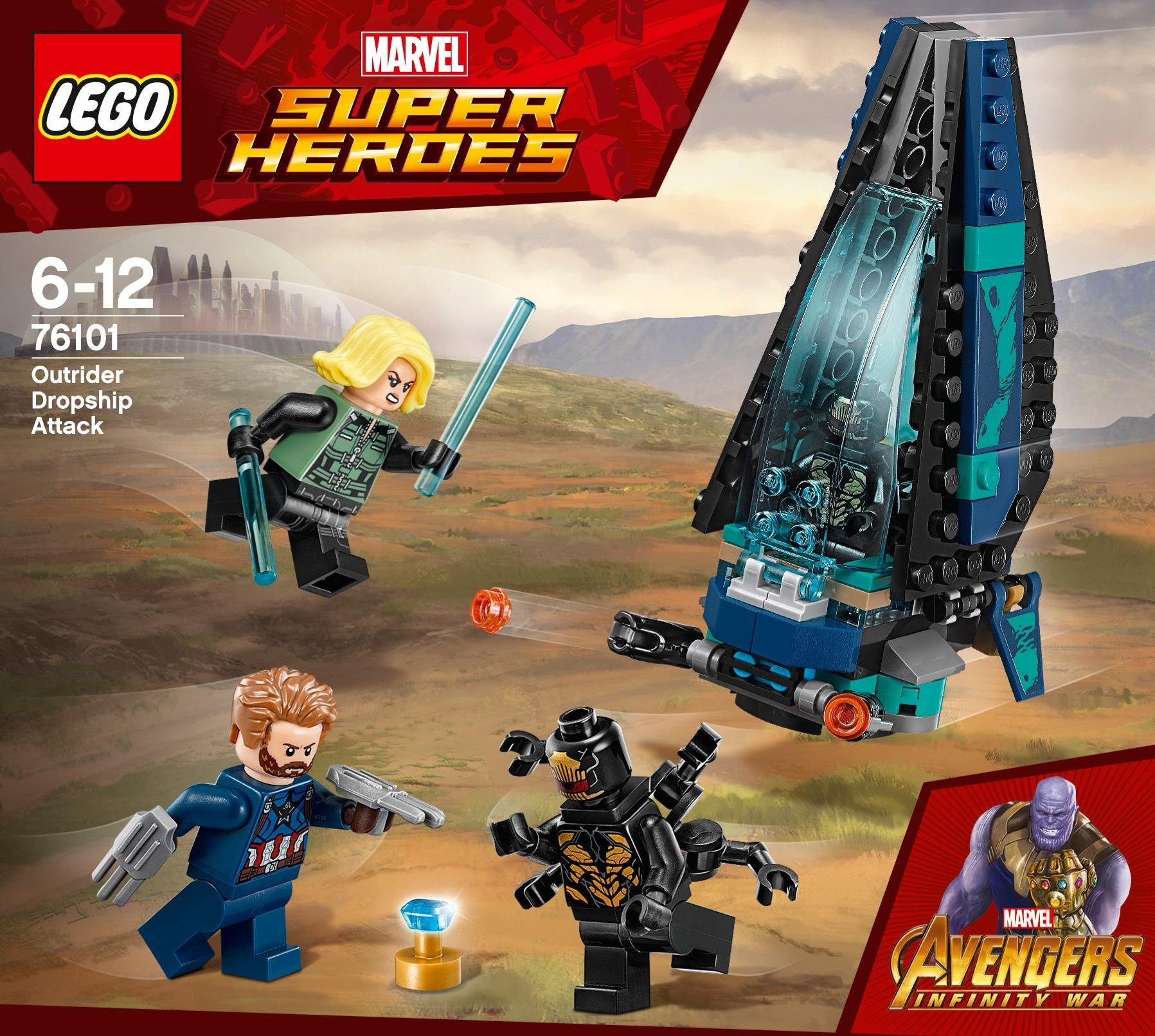 LEGO® Outrider Dropship-Attacke (76101), »LEGO® Marvel Super Heroes«