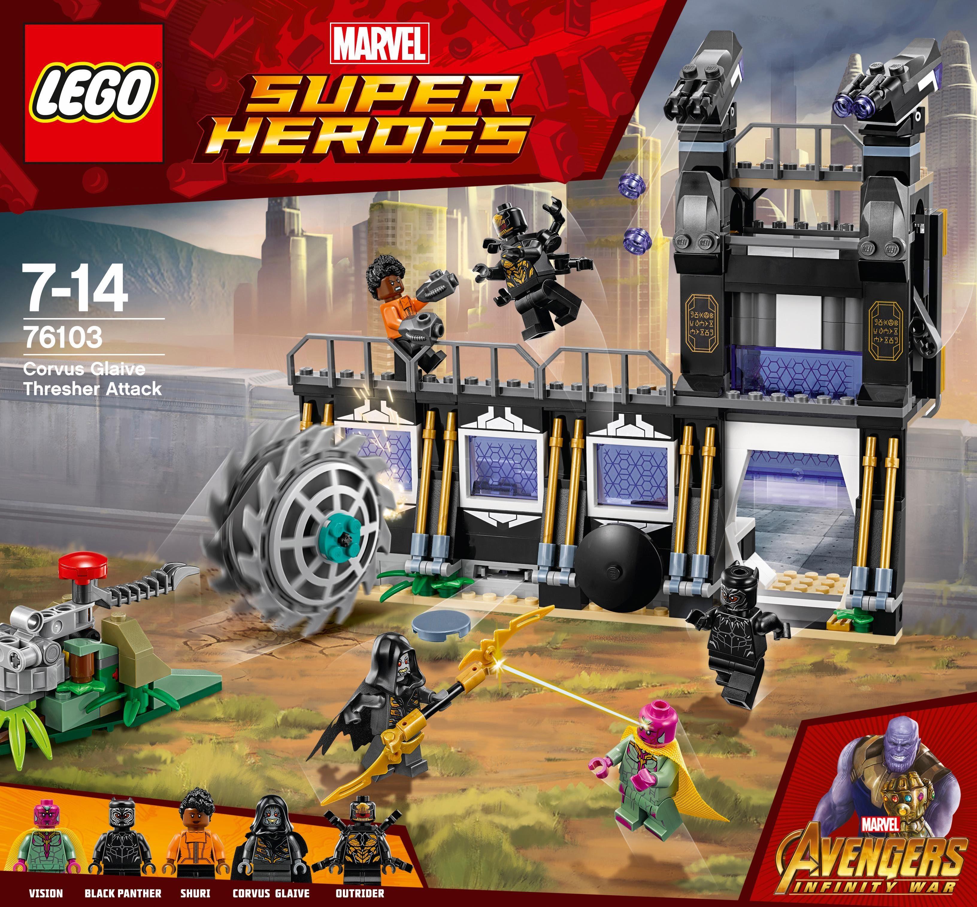 LEGO® Corvus Glaives Attacke (76103), »LEGO® Marvel Super Heroes«