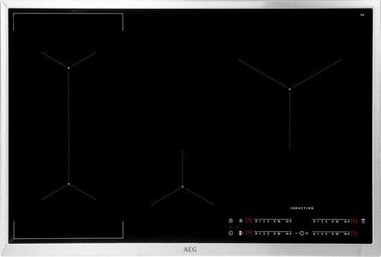 AEG Flex-Induktions-Kochfeld IKE84441XB, mit Hob²Hood - Funktion