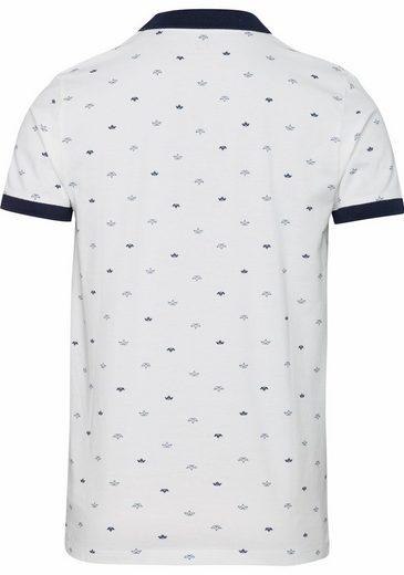 ESPRIT Poloshirt, mit Minimalmuster