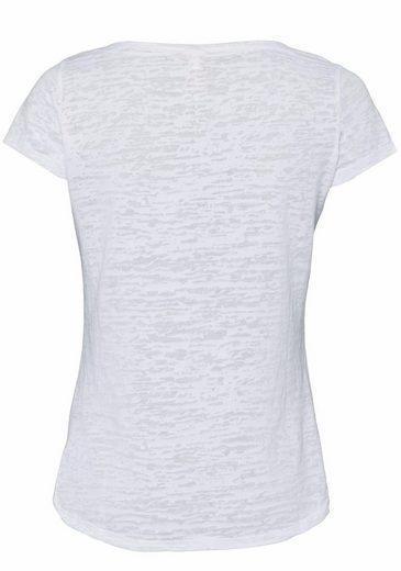 Key Largo T-Shirt Pina Colada, mit Pailletten