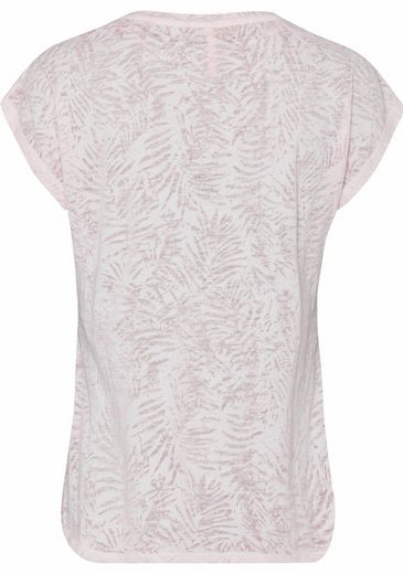 Key Largo T-Shirt Breeze, mit Print und Glitzersteinen