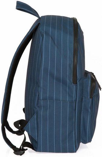 Mit Rucksack Navy white« Laptopfach Mini Enter Gym »ls Backpack ZfHwFqHag