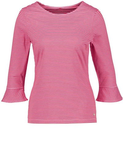 Gerry Weber T-Shirt 3/4 Arm Gestreiftes 3/4 Arm Shirt organic cotton