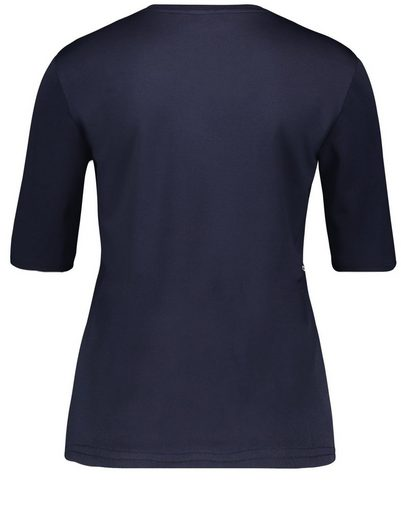 Gerry Weber T-Shirt 1/2 Arm 1/2 Arm Shirt mit Ösendeko