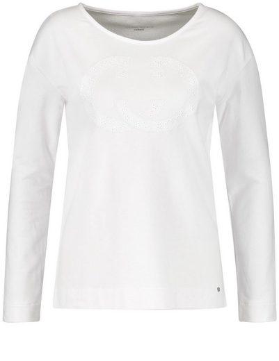 Gerry Weber T-Shirt 1/1 Arm Langarmshirt mit Logoemblem