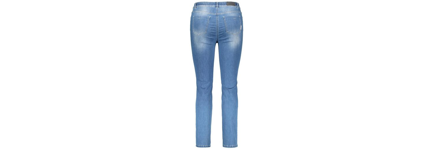 Samoon Hose Jeans lang Jeans mit Coolmax-Fasern, Betty Jeans