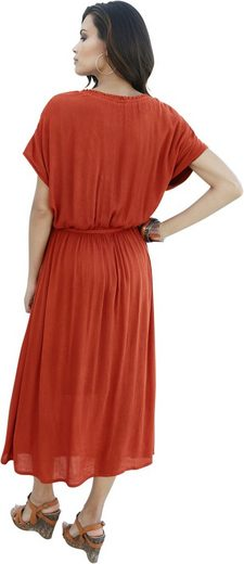Classic Inspirationen Kleid in gekreppter Qualität