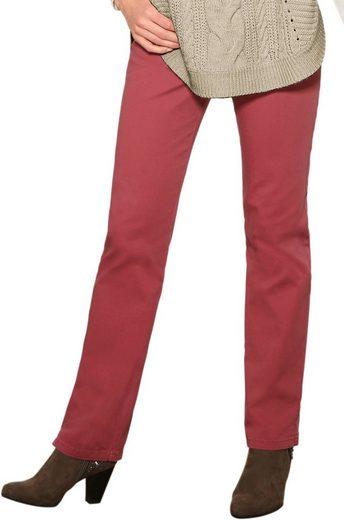 Classic Basics Jeans mit seitlichem Dehnbund
