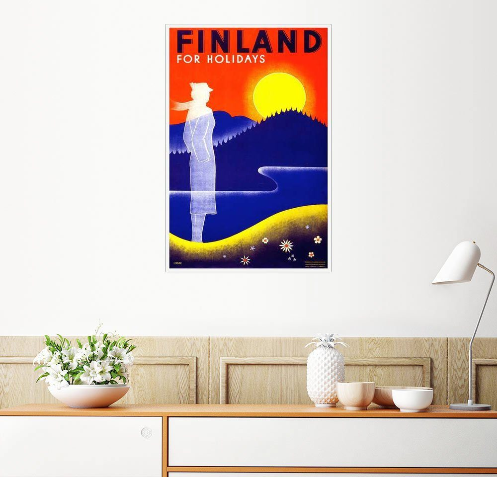 Posterlounge Wandbild »Finnland für Ferien«