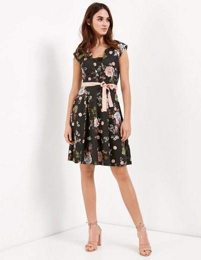 Taifun Kleid Gewirke Slinky-Kleid mit Blumen-Print
