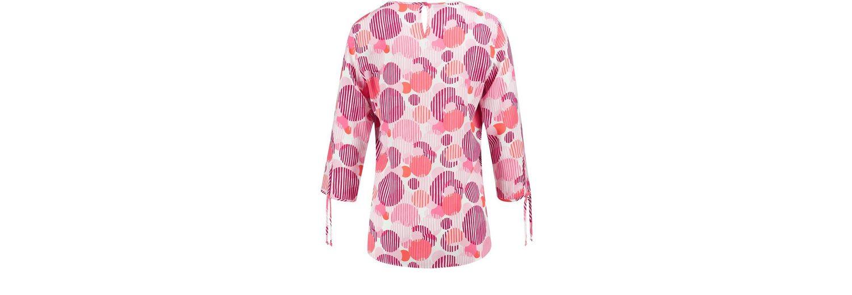 Günstig Kaufen Gefälschte Gerry Weber Bluse 3/4 Arm 3/4 Arm Bluse mit sommerlichem Muster Verkauf Finish WhcqFz