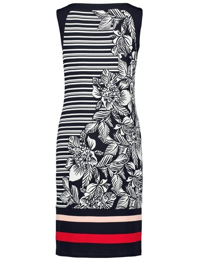 Gerry Weber Kleid Gewirke Kleid mit Kontrastdruck