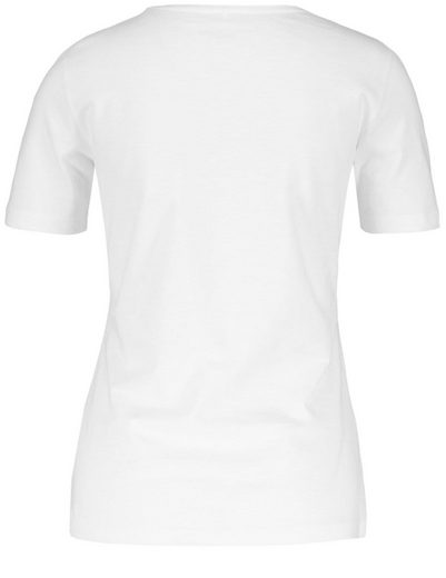 Gerry Weber T-Shirt 1/2 Arm 1/2 Arm Shirt mit Spitzenapplikation