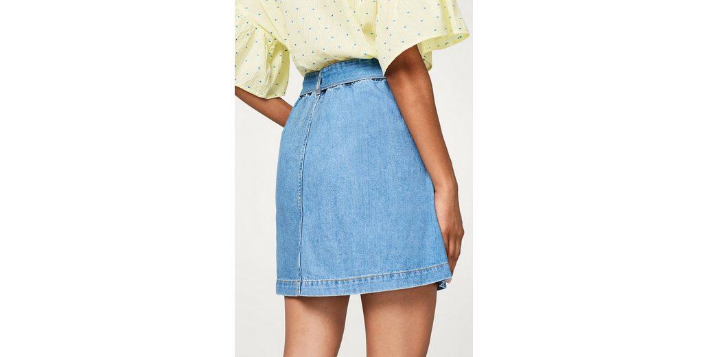 EDC BY ESPRIT Jeans-Rock mit Organic Cotton Empfehlen Billig 47Lho8
