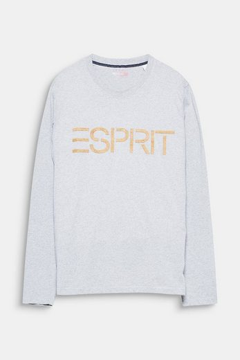 Esprit Jersey Longsleeve Cork With Logo From