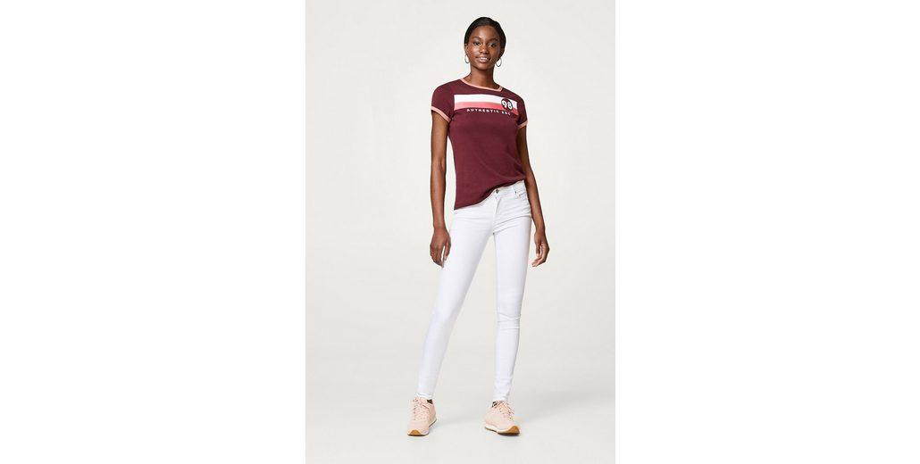 Echt Günstiger Preis Billig Einkaufen ESPRIT Schmale Stretch-Jeans mit recyceltem Material rsTh0oAwt