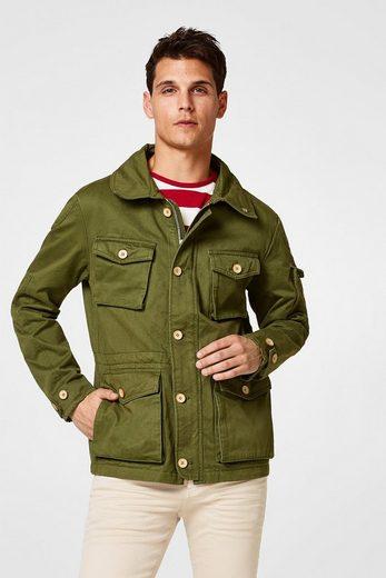 ESPRIT Field Jacke aus Baumwolle