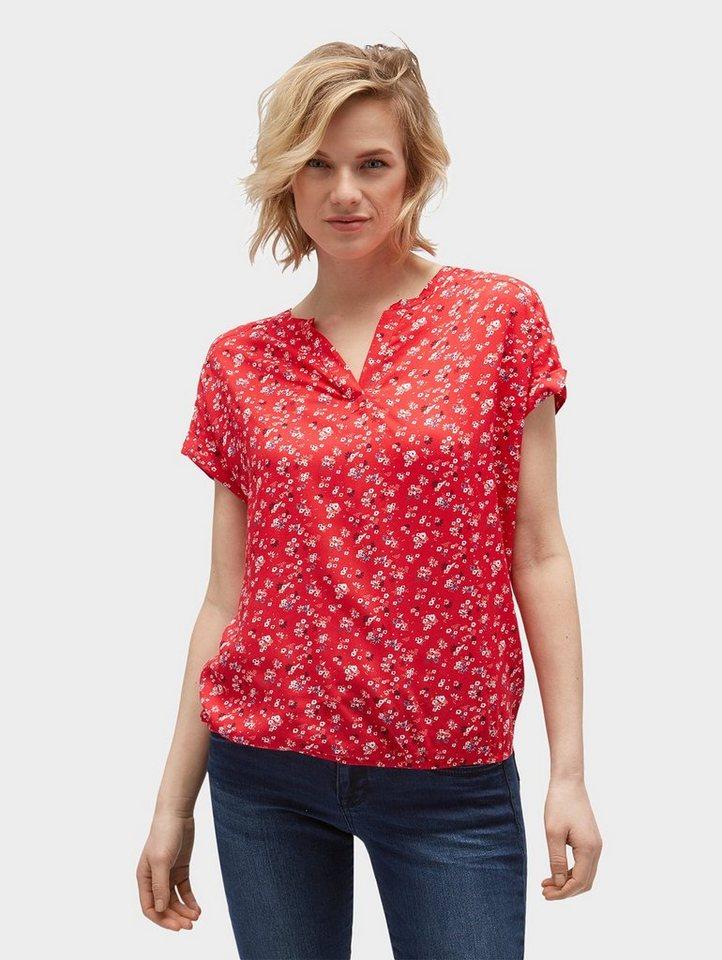 tom tailor shirtbluse bluse mit floralem muster otto. Black Bedroom Furniture Sets. Home Design Ideas