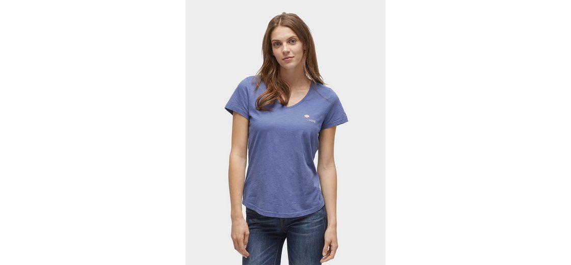 Tom Tailor T-Shirt T-Shirt mit Stickerei auf der Brust Original Günstiges Online-Shopping Ausgezeichnete Online Billig Verkauf Bester Verkauf d54QZlvZ
