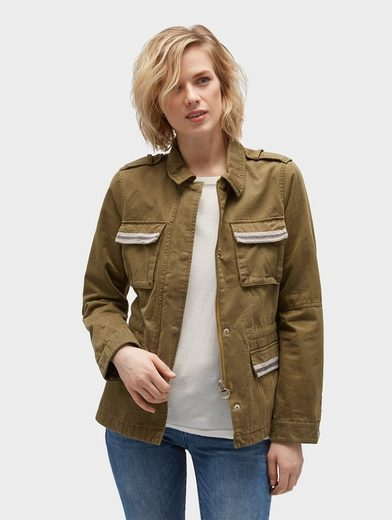 Tom Tailor Fieldjacket Jacke im Military-Stil