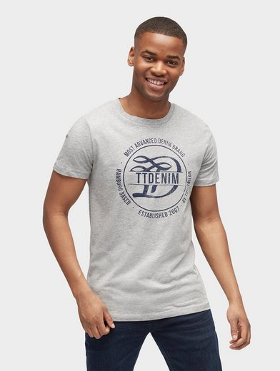 Tom Tailor Denim T-Shirt T-Shirt mit Logo-Print
