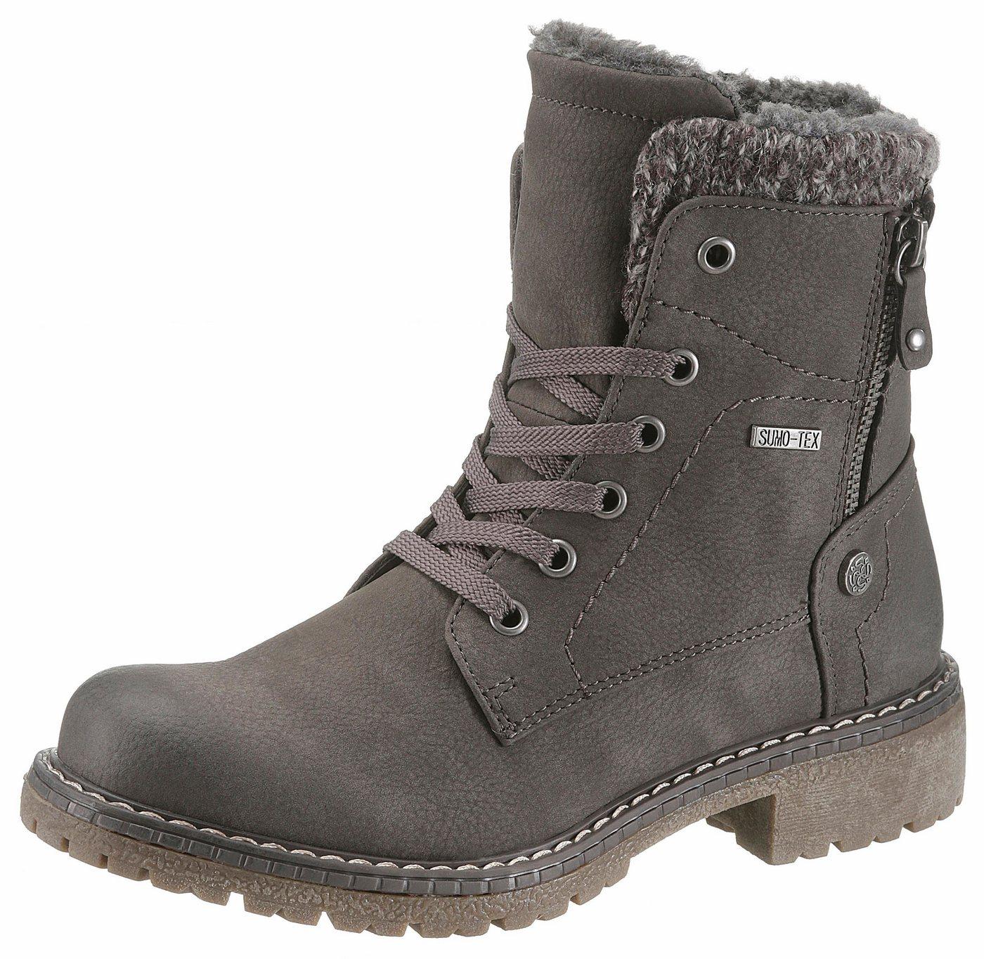 Supremo Winterstiefelette mit Tex-Ausstattung | Schuhe > Boots > Winterstiefel | Grau | Supremo