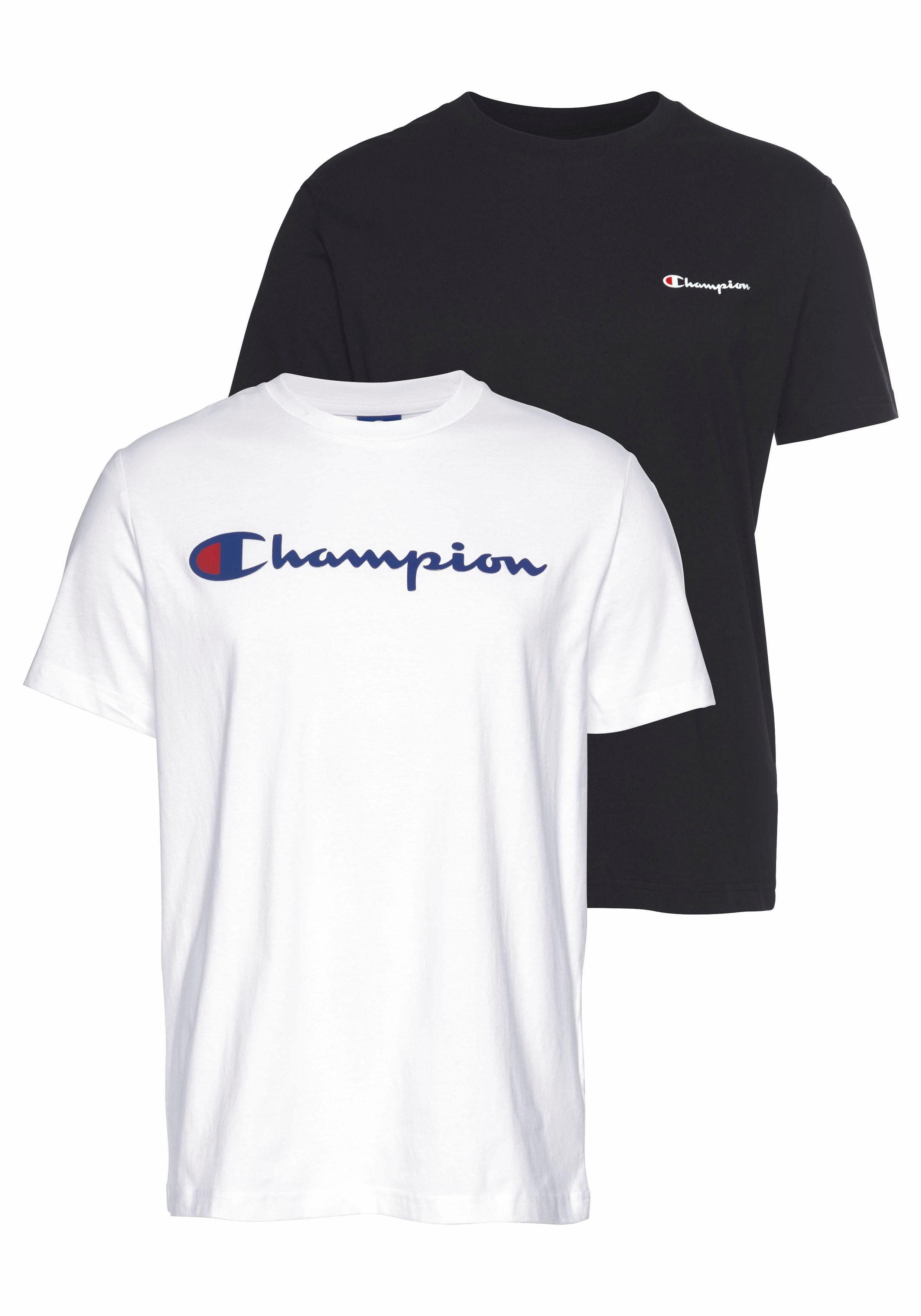 champion t shirt herren weiß