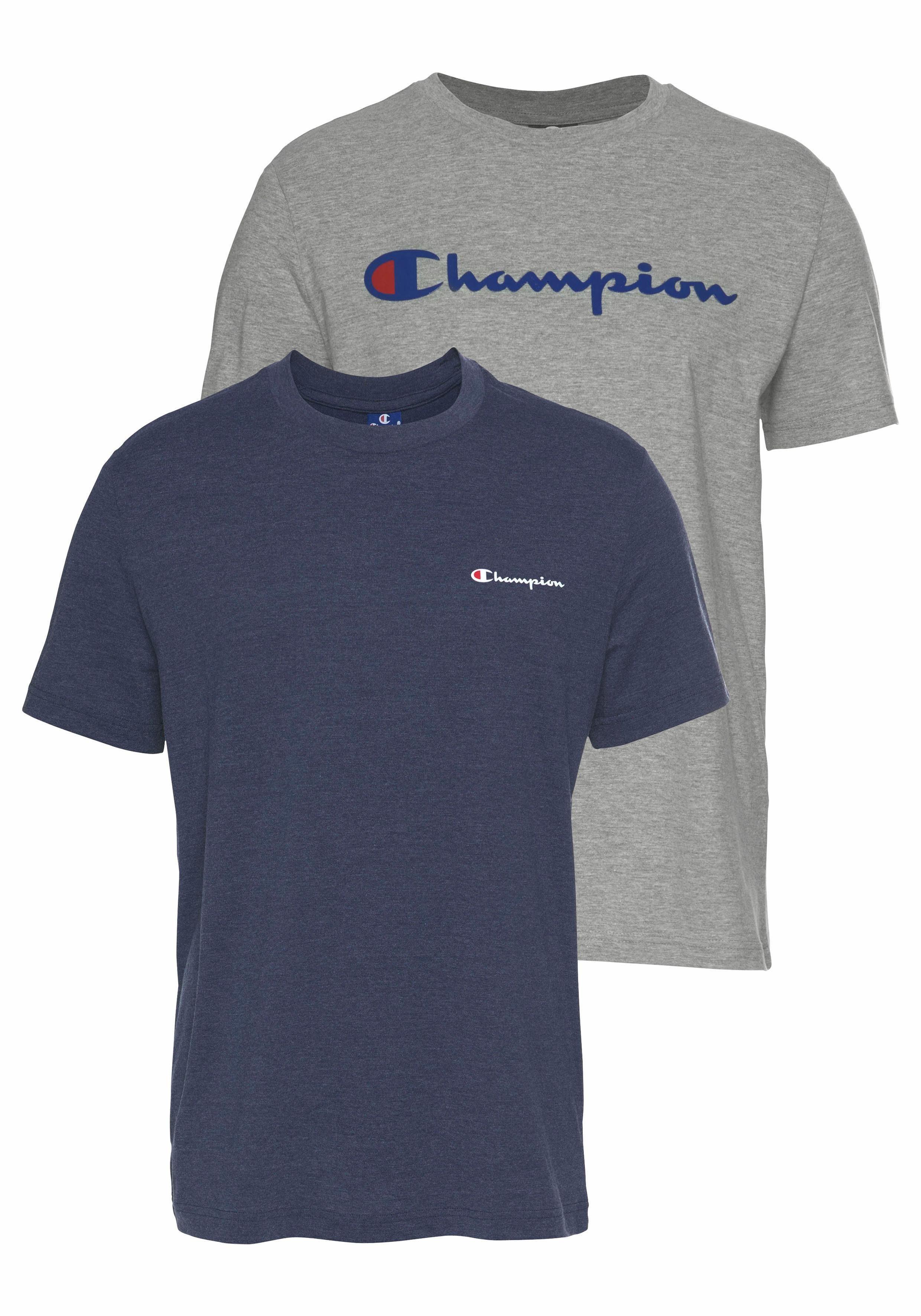 champions t shirt blau