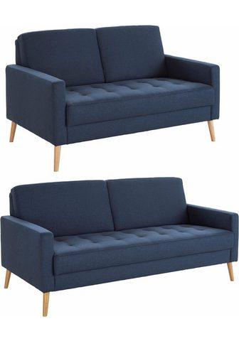 ANDAS Rinkinys 2- ir 2,5-vietė sofa »Kiara« ...