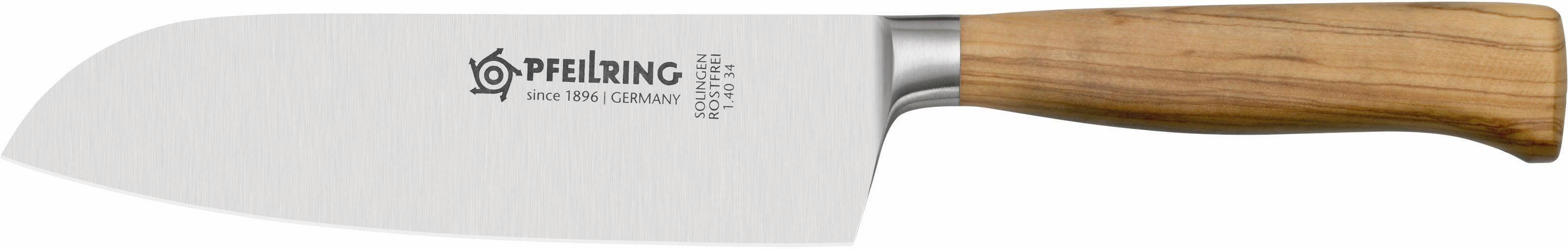 PFEILRING Santokumesser, rostfrei, Made in Germany, 16 cm, »OLIVE-LINE«