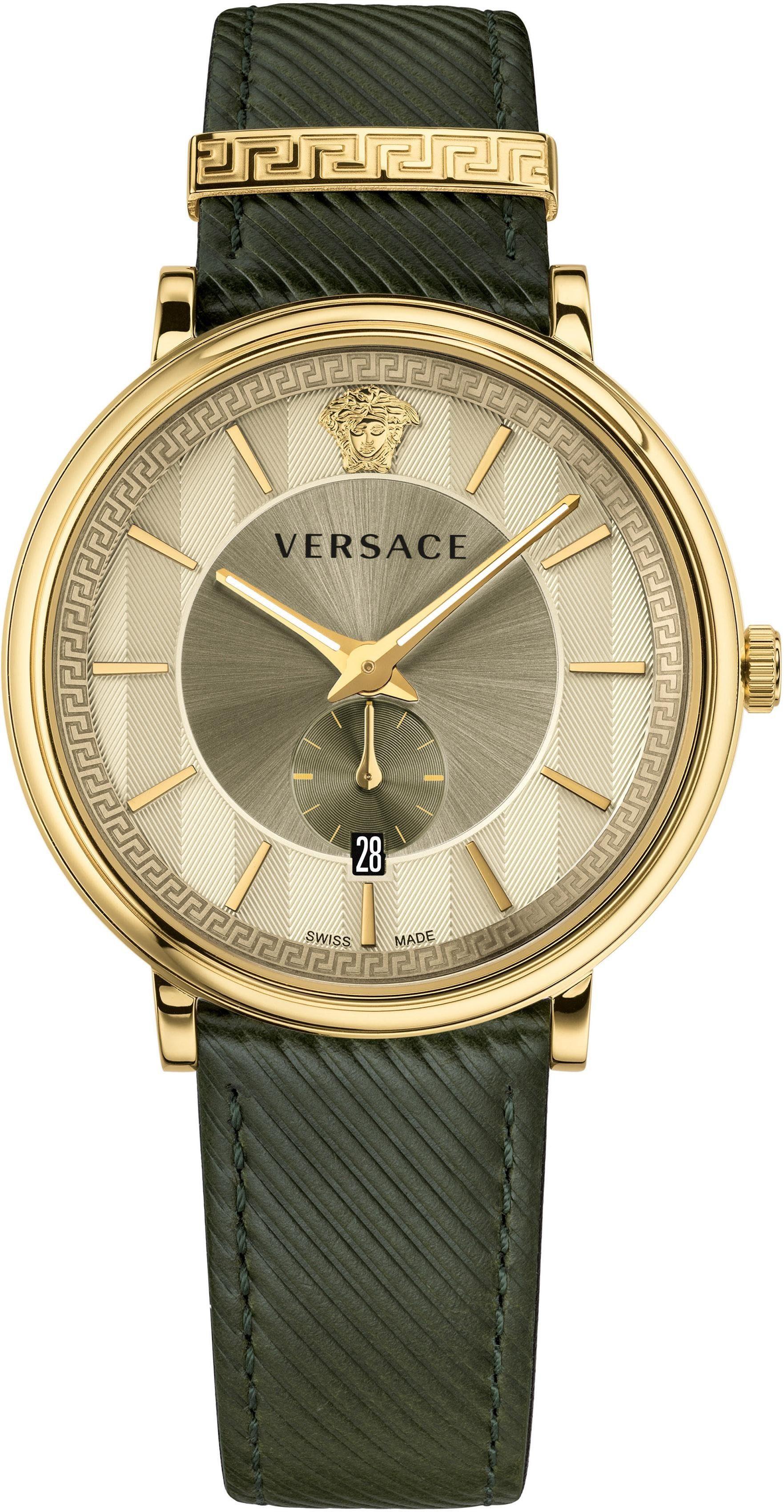 Versace Schweizer Uhr »V-CIRCLE, VBQ030017« mit kleiner Sekunde