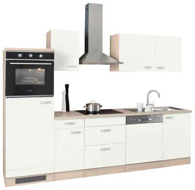 Optifit küchenzeile ohne e geräte faro breite 270 cm