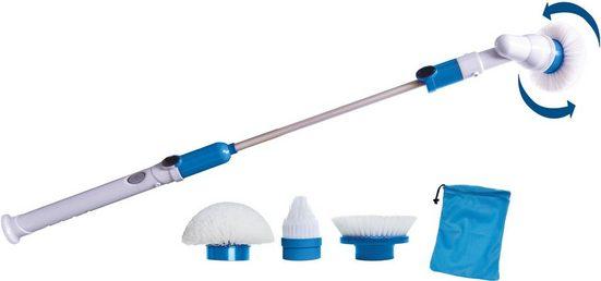 Reinigungsbürste »HURRICANE SPIN SCRUBBER«, MediaShop, (Set, 7-tlg)