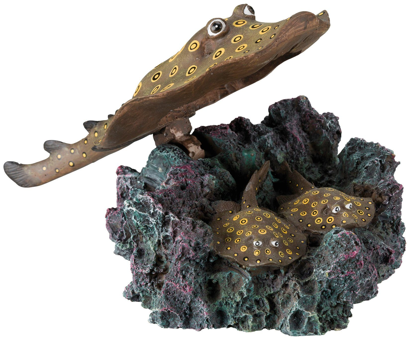 TRIXIE Aquariendeko , Stachelrochen mit Ausströmer