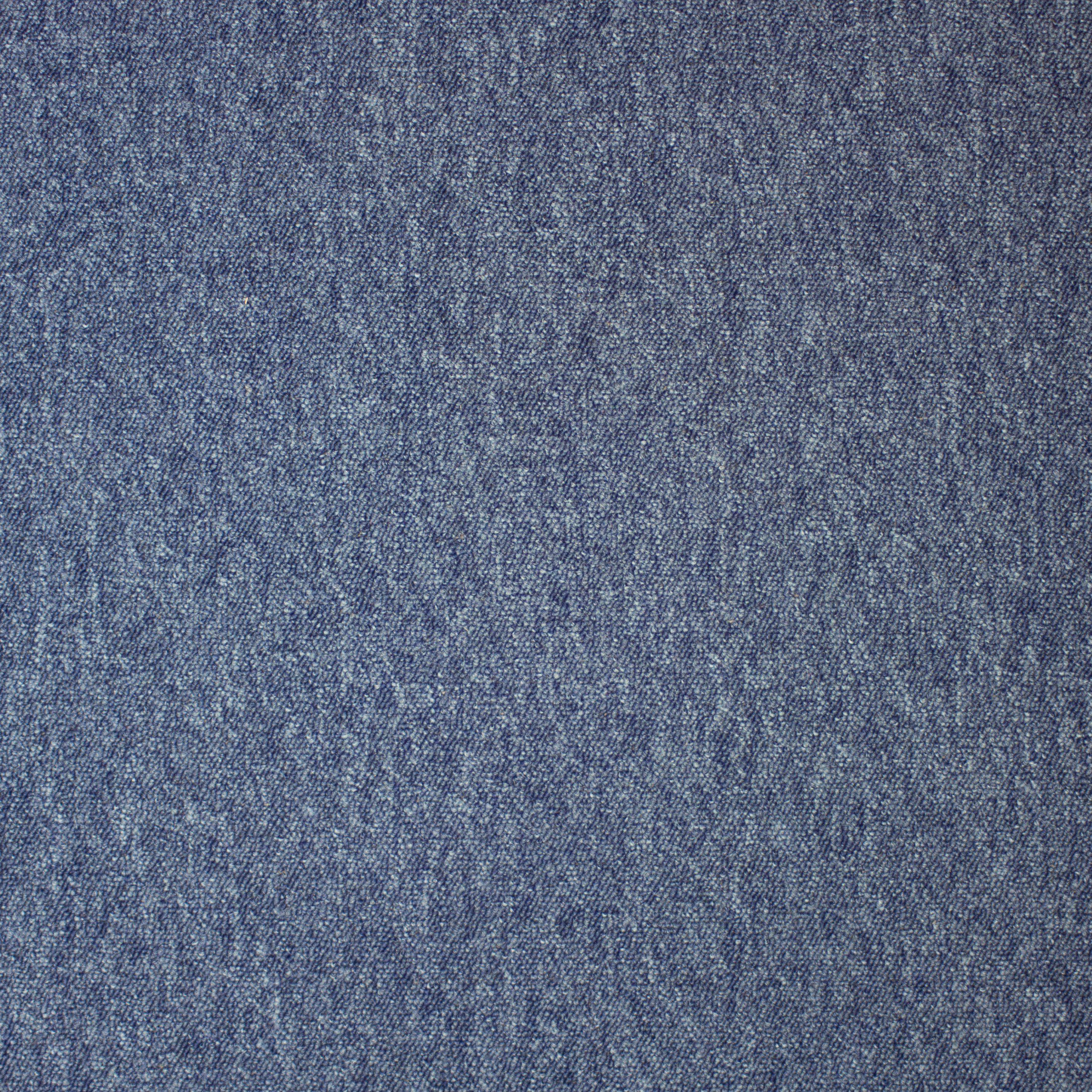 Teppichfliese »Neapel SL Dunkelblau«, 4 Stück (1 m²)