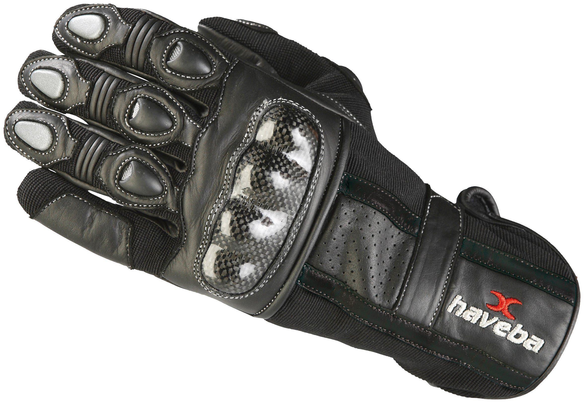 HAVEBA Motorradhandschuhe »Contec«, Unisex, Obermaterial aus 100 % Leder