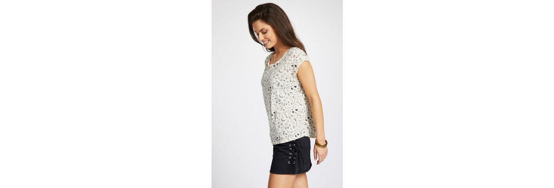 khujo T-Shirt SUNYA MINIMAL, mit All-over Print