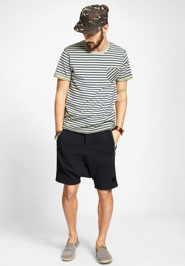Khujo T-shirt Ticking Stripes With