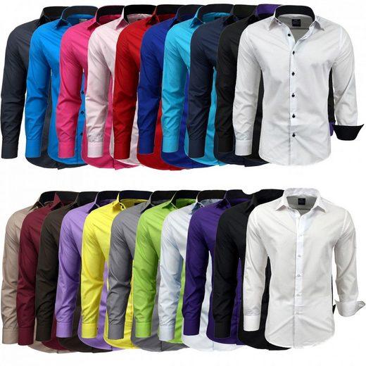 Rusty Neal Hemd im ausgefallenen Design