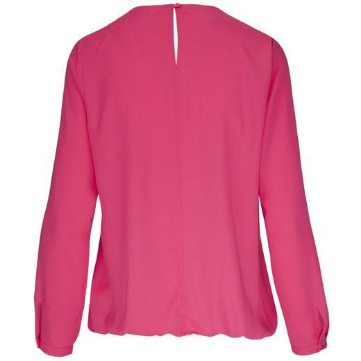Seidensticker Shirt Blouse Black Rose, Rundhals