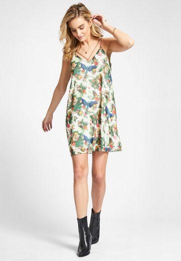 khujo Sommerkleid NASYA, mit tropischem Print